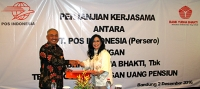 Signing of PKS-BYB Pos Indonesia