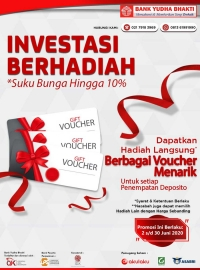 Enjoy Our Time Deposit Investment Program at Bank Yudha Bhakti!